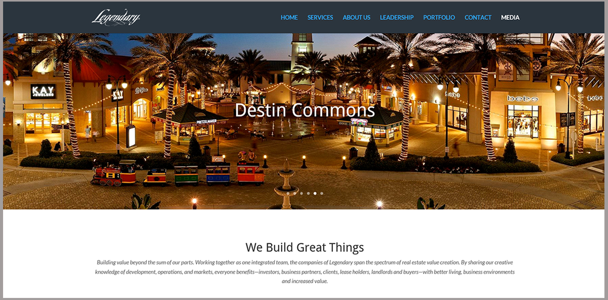 Legendary Website Destin Florida